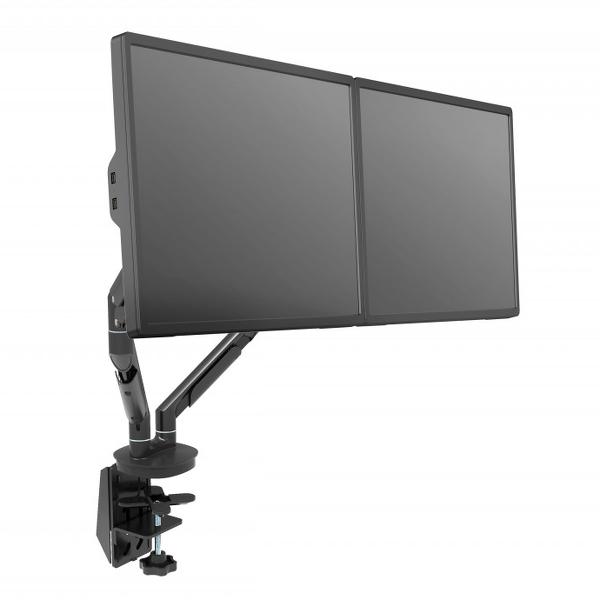 Monitorarm til to skærme